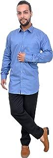The Mods Men's Formal Dark Blue Color Shirt