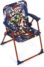 ARDITEX Silla Plegable para niños bajo Licencia Avengers en Metal Dimensiones: 38 x 32 x 53 cm, Tela, 38 x 32 x 53 cm
