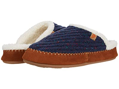 Acorn Camden Clog (Navy/Blue) Women