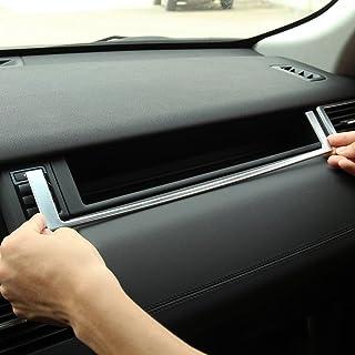 accessori per auto cornice per portabicchieri in ABS cromato Yiwang per auto Discovery Sport 2015-2018
