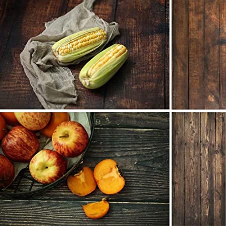 2 In 1 Seamless Food Fotografie Kulissen Für Kamera