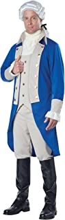 California Costumes Men's George Washington/Thomas Jefferson/Alexander Hamilton/Colonial Costume