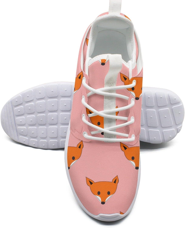 Women's Fashion Lightweight Sneakers shoes Cute Fox Head Cool Running shoes