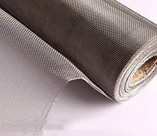 BBRXX 304 Stainless Steel Woven Wire Rodent Proof Mesh Metal,Hole Diameter 1mm,Prevent Mouse Mice Snakes Hornets Rodents Entering,Easy to Cut and Install,100x300cm(39x118inch)