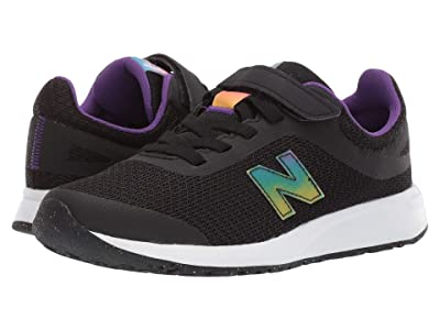 New Balance Kids 455v2 (Little Kid/Big Kid) (Black/Rainbow) Girls Shoes
