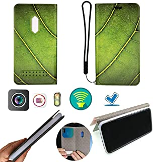 FY Flip Case For Tecno Pop 3 Plus Cover Flip PU Leather + Silicone Ring case Fixed SY