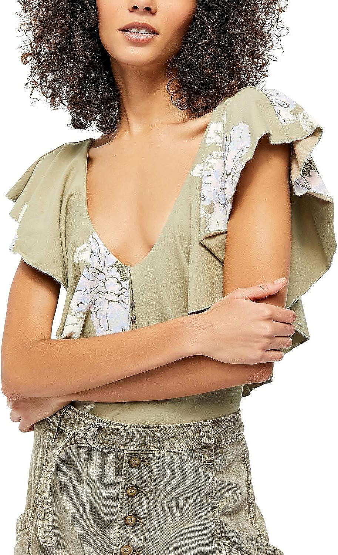 Free People Women's Matilda Bodysuit Green M