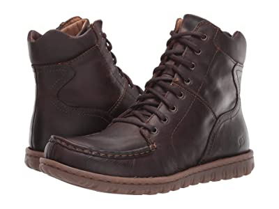Born Georg (Dark Brown (Castano) Full Grain) Men