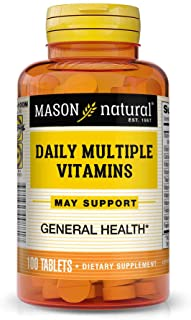 MASON NATURAL, Daily Multiple Vitamins Compare to One a Day Essentials Tablets - 100 Ea