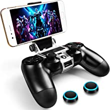 WEPIGEEK Controller Phone clip Mount Compatible with Plastation 4 Pro/Slim Official Wireless Bluetooth controllers