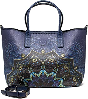 Luxury Fashion | Desigual Womens 19WAXP21BLUE Blue Tote | Fall Winter 19