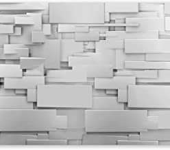 murando Fotomurales 150x105 cm XXL Papel pintado tejido no tejido Decoraci/ón de Pared decorativos Murales moderna de Diseno Fotogr/áfico ladrillo piedra f-B-0043-a-a