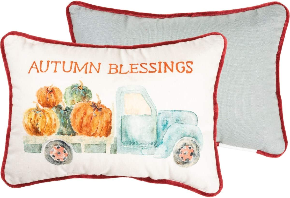 Primitives by Kathy Same day shipping Embroidered Watercolor Art-Inspired Throw Pi Special Campaign