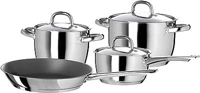 IKEA Oumbärlig 7-Piece Cookware Set, Stainless Steel