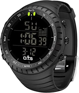 PALADA Men's Digital Sports Watch Waterproof Tactical...