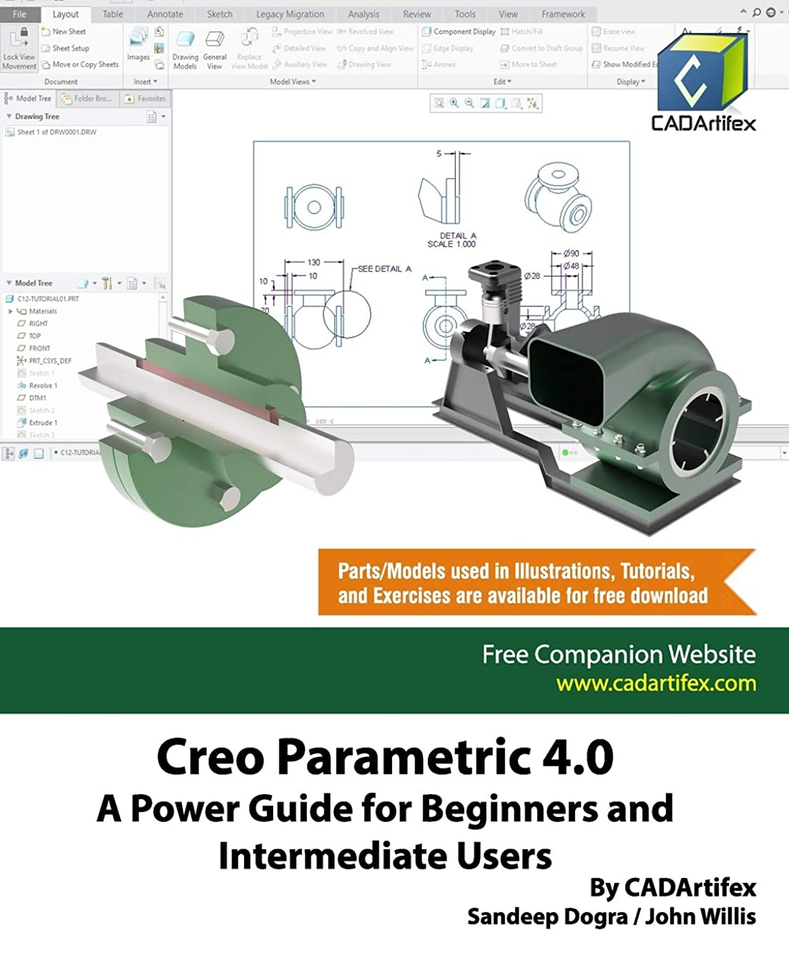 自然公園スライス延ばすCreo Parametric 4.0: A Power Guide for Beginners and Intermediate Users