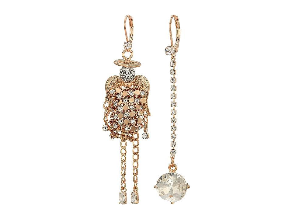 Betsey Johnson - Betsey Johnson Angel Non-Matching Earrings