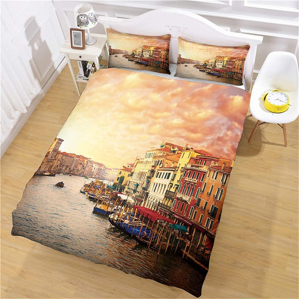 3D Modern Pattern Bedding Set Cheap super New mail order special price General for Women and Especial Men