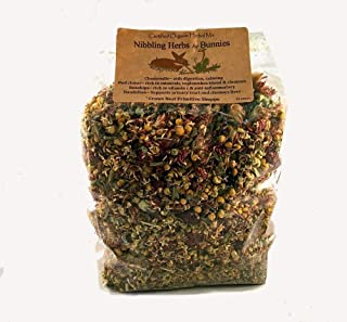 12 ounce packaged- Certified Organic Nibbling Herbal Mixture for Bunny Rabbits that is Healthy and they Love!