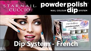 Cuccio Powder Polish Nail Colour Acrylic Dipping System Starter Kit - 12 Piece