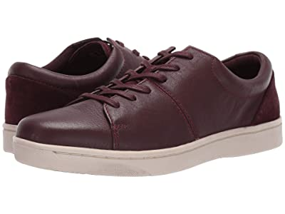 Clarks Kitna Vibe (Wine Leather) Men