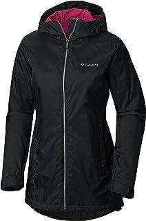 Columbia Women's Switchback Lined Long Jacket w/ Waterproof Shell