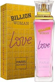 Eau de Toilette Billion Woman Love, Paris Elysees, 100 ml