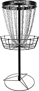 Dynamic Discs Recruit Lite | Disc Golf Target | 24 Chain Portable Disc Golf Basket | Easy Assembly & Lightweight