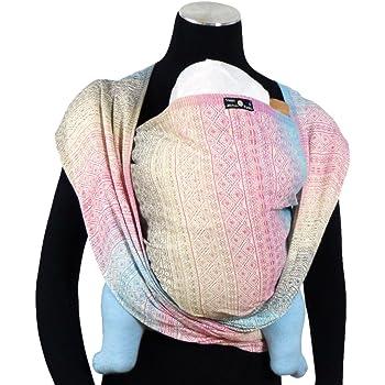 DIDYMOS Woven Wrap Baby Carrier Prima Aurora (Organic Cotton), Size 6