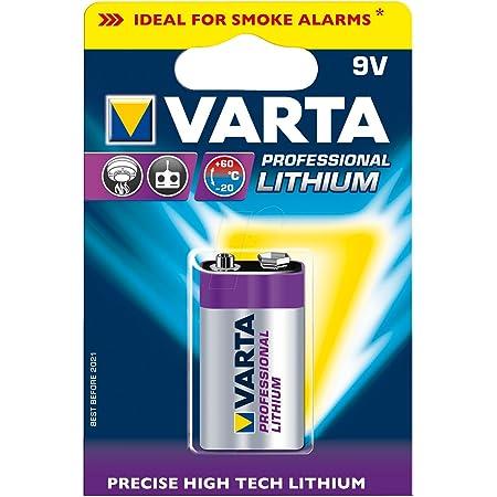 Varta Professional Lithium 9v Block 6122 Computer Zubehör