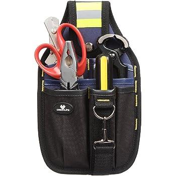 Case4Life Portaherramientas Bolsa de Cinturón - Perfecto para Brivolaje Electricistas Carpinteros y Constructores - Garantía de por vida: Amazon.es: Bricolaje y herramientas