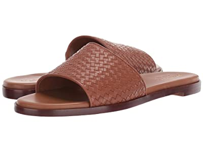Cole Haan Analise Weave Sandal (Tan Leather) Women
