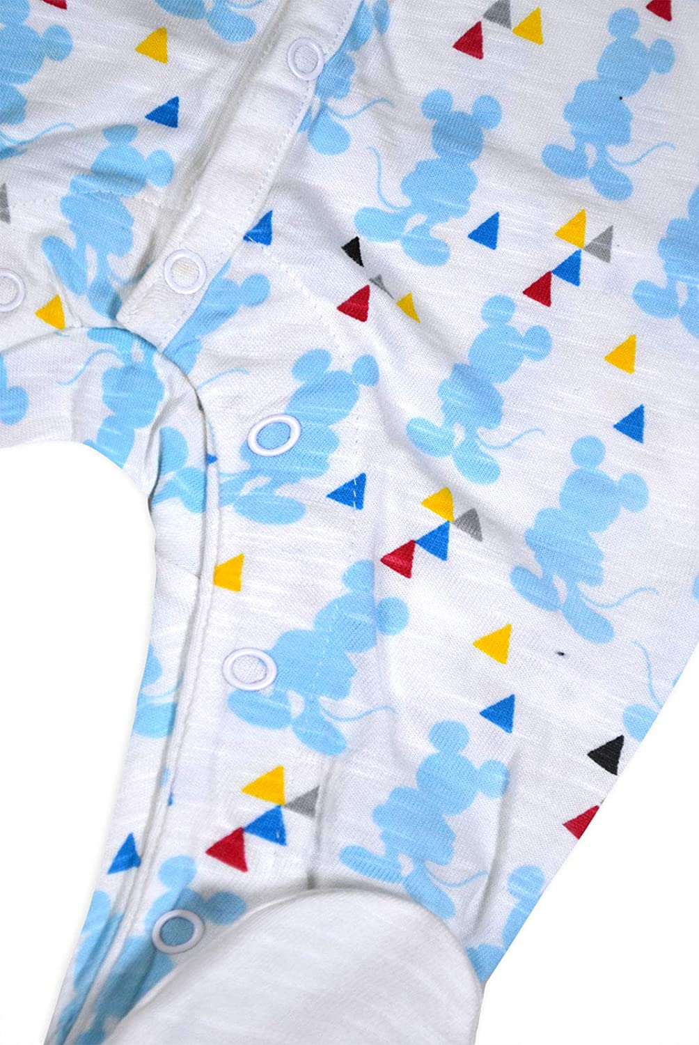 Baby Boys Babygrow Disney Mickey Mouse Romper Pure Cotton Sleepsuit NB-18 Months