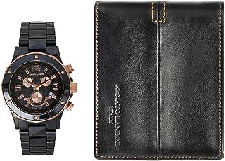 Renato Landini Men's Watch and Wallet - RP6122 WM