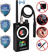 Anti Spy RF Detector, uniwood Wireless Bug Detector Signal, Hidden Camera Detectors - GSM Listening Device Finder Radar Radio Scanner Wireless Signal Alarm