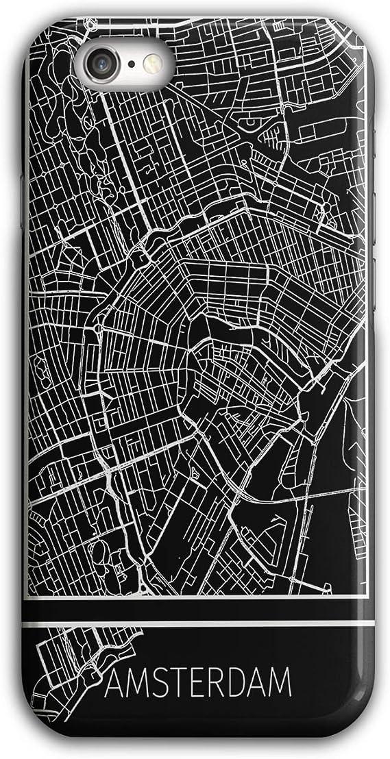 Wellcoda Hollande Amsterdam Coque pour iPhone, 6 / 6S Pays-Bas Housse antidérapante - Coupe ajustée, Prise Confortable, Etui de Protection de