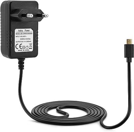 Aukru, Alimentatore micro USB 5V 3000 mAh per Raspberry Pi 3 modello B+ Plus/Pi 3, Pi 2 Modello B+ Plus, Banana Pi, 1.5 metri - Confronta prezzi
