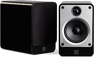 Q Acoustics Concept 20 Compact Bookshelf Speaker Pair (Black)