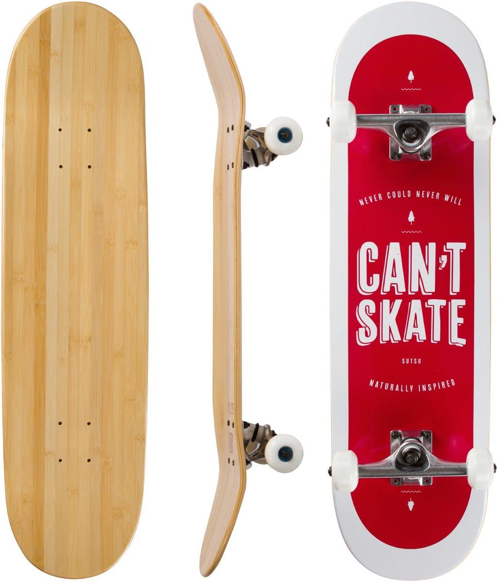 Bamboo Skateboards Complete Easy-to-use Skateboard - More Lighter Stro Oakland Mall Pop