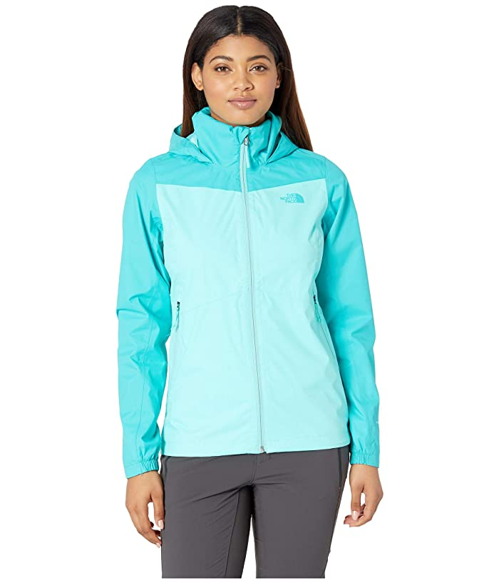 The North Face PR Resolve Plus Jacket (Mint Blue/Ion Blue) Women