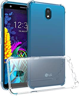 QSEEL Shockproof Clear Case for LG K30 2019 /X2 2019 Air-Cushion-Corner TPU Cover, LG K30 2019 /X2 2019 Buffer Case Shock-...