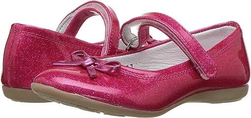 Fuchsia Glitter Patent