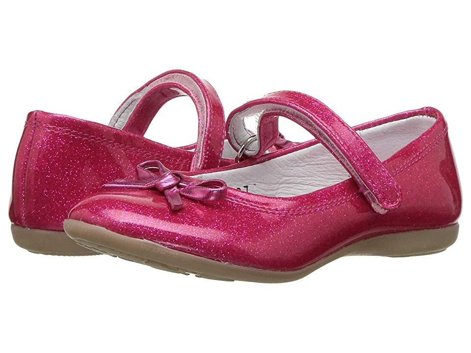 Kid Express Rosie (Toddler/Little Kid/Big Kid) (Fuchsia Glitter Patent) Girls Shoes