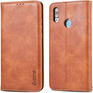 For Huawei Y9 2019 / Enjoy 9 Plus Retro Texture Magnetic Horizontal Flip PU Leather Case with Holder & Card Slots & Photo Frame New (Black) Hopezs (Color : Yellow)