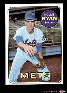 1969 Topps # 533 Nolan Ryan New York Mets (Baseball Card) Dean's Cards 4 - VG/EX Mets