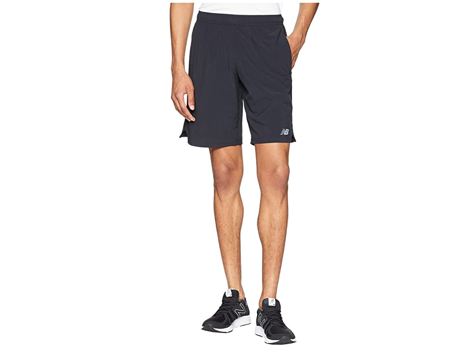 New Balance Tenacity Woven Shorts (Black) Men