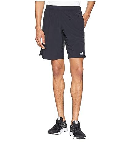 New Balance Tenacity Woven Shorts (Black) Men