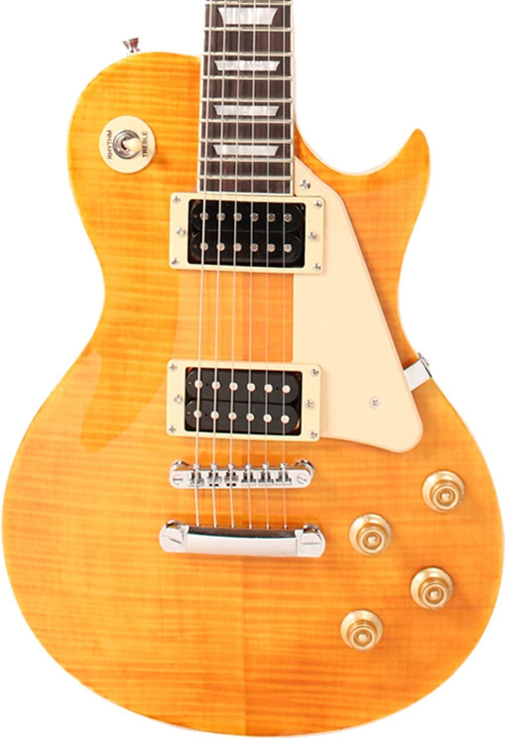 Sawtooth Heritage New mail order Regular dealer Series Flame Maple Top Electric Guitar Tuscan