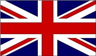 Rogue River Tactical UK United Kingdom Flag Sticker Great Britain British Union Jack Auto Car Window Decal Bumper Sticker (3x5