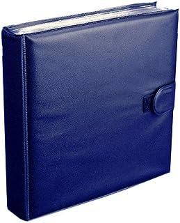 """Album para Guardar Discos de Vinilo Singles 7"""" (Los Discos Pequeños) Color Azul - Marca CuidaTuMusica - / Ref.2731"""